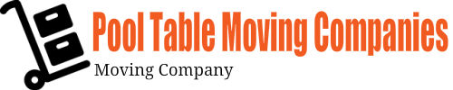 Pool Table Moving Companies